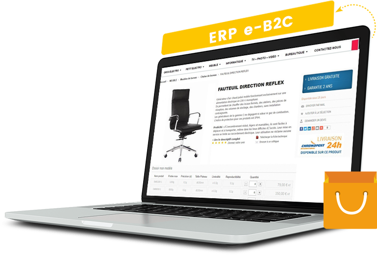 Solution erp e-commerce B2C